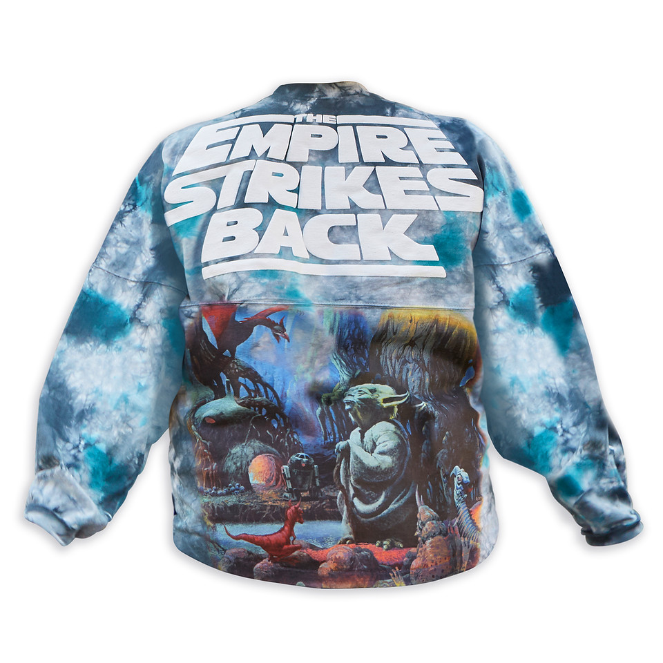 Star Wars- The Empire Strikes Back Tie-Dye Spirit Jersey for Adults