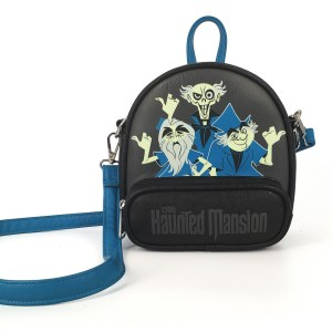 The Haunted Mansion Crossbody Bag by Loungefly