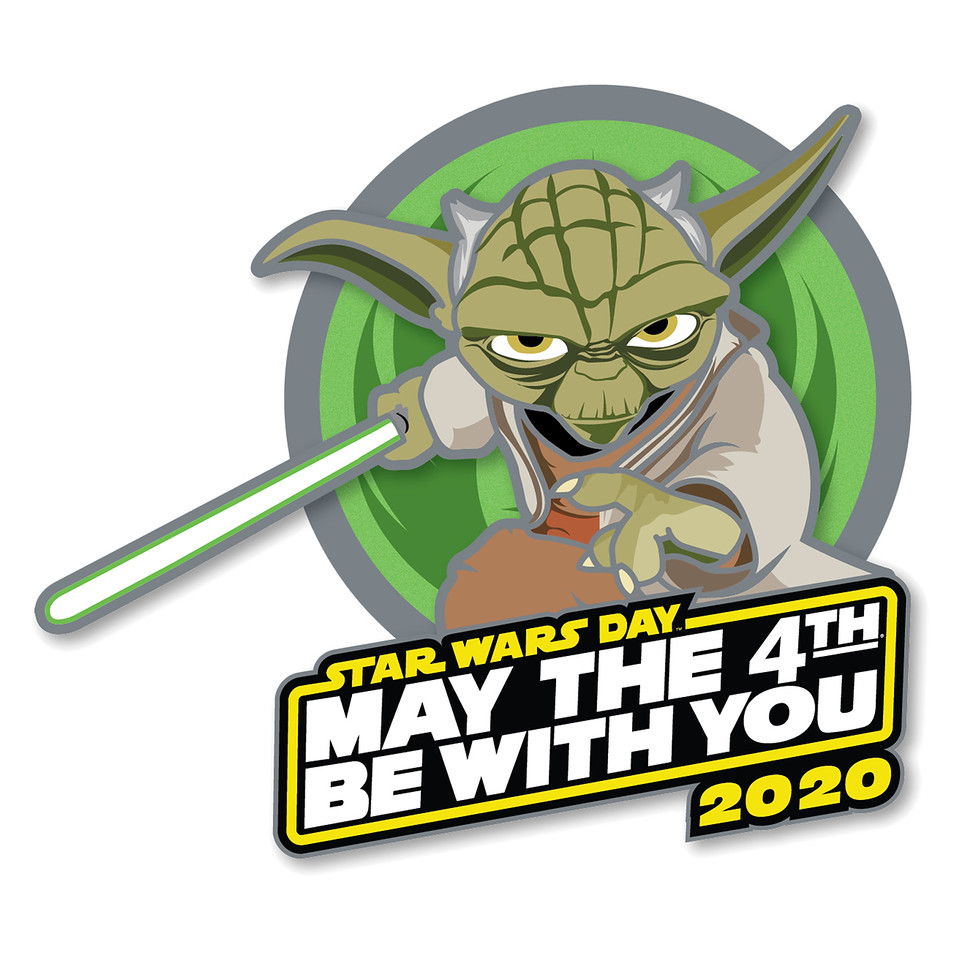 Yoda ''May the 4th Be With You'' 2020 Pin – Star Wars Day