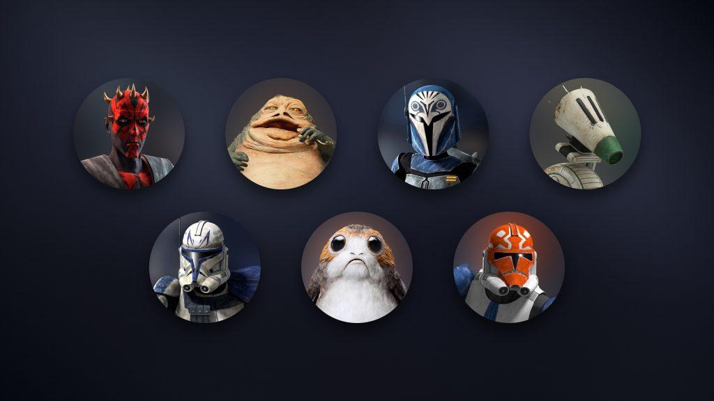 new_star_wars_avatars Disney+_
