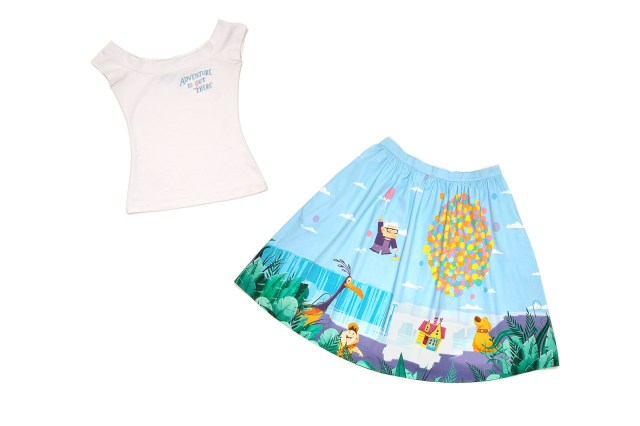 UP Adventure Dizzy Off Shoulder Top and UP Balloon Sandy Skirt