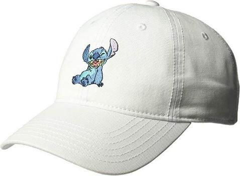 Stitch Sitting Hat [White]