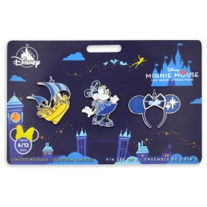 Minnie Mouse: The Main Attraction Peter Pan pin set