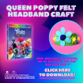 Trolls World Tour DIY Poppy Headband