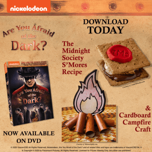 nickelodeon are you afraid of the dark craft