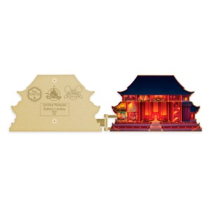 Mulan Imperial Palace Pin – Disney Castle Collection