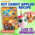 DIY Nick Jr. Candy Apples