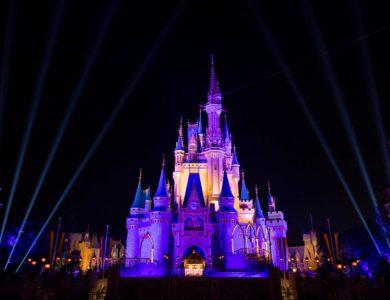 Cinderella Castle Celebrates NBA Champion Los Angeles Lakers