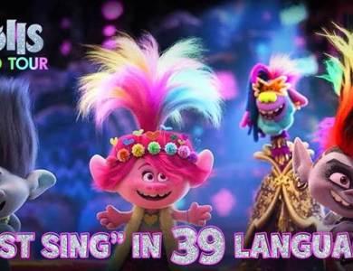 Just Sing 39 languages Trolls world tour