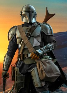 1/4 Scale The Mandalorian Figure by Hot Toys