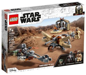lego the trouble in tatooine