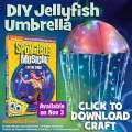 jellyfish umbrella spongebob