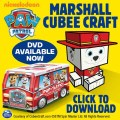 paw patrol cubee craft