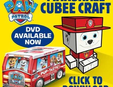 paw patrol cubee craft