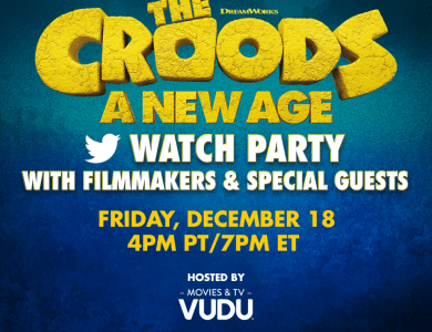 THE CROODS: A NEW AGE - Twitter Watch Party