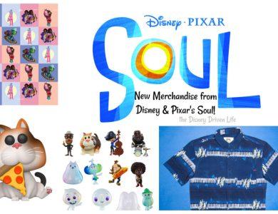 Disney Pixar Soul new merchandise