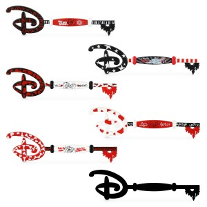 New shopDisney Collectible Keys Valentines day