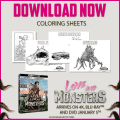 love and monsters coloring sheets