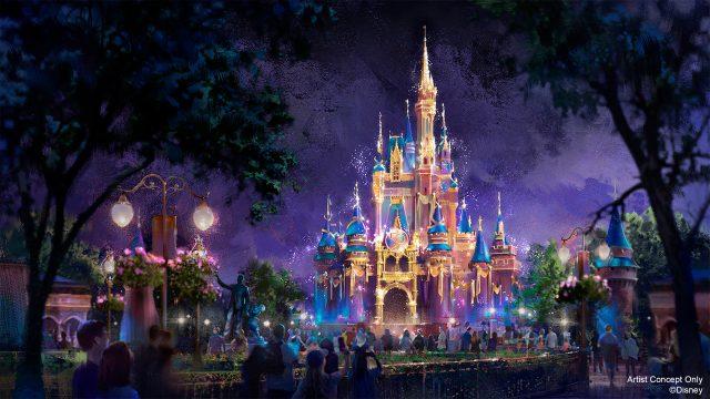Cinderella Castle Beacon Disney