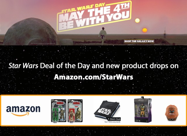 Amazon May the 4th