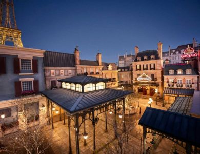 Expanded France Pavilion at EPCOT