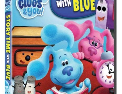 blues clues and you story time with blue