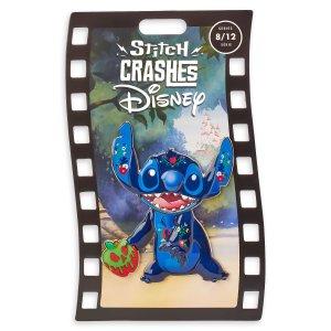 stitch crashes disney snow white pin
