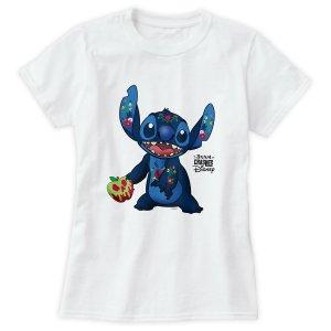 stitch crashes disney snow white tshirt