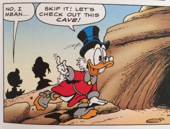 Don Rosa continued Scrooge's stories after Carl Barks. (1988)
