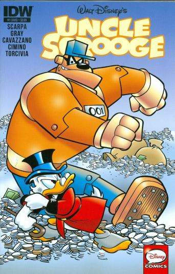 Scrooge in his current comic series (2015)