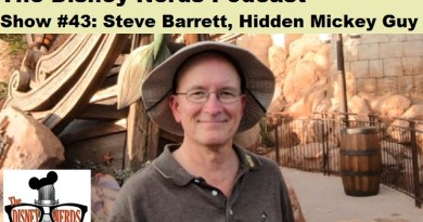 Steve Barrett - Hidden Mickey Guy