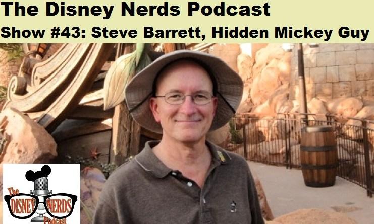 Steve Barrett - Hidden Mickey Guy