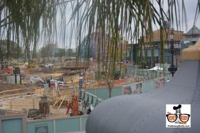 Disney Spring Concept Art - new parking garage