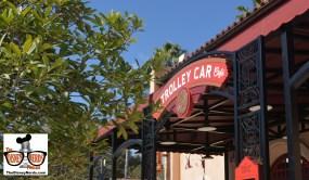 The Trolley Car Cafe, aka Starbucks looks great.