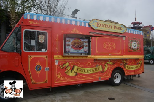 """The Food Truck Park is great.... 4 Trucks each themed to a park. Fantasy Fare """"inspired by Magic Kingdom"""""""