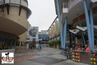 Construction between Splitsville and the AMC