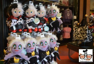 New Villain Plush in the Villain Store on Sunset.