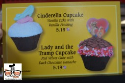 Cinderella and Lady and the Tramp Cupcakes