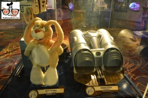 "New Exhibit in One Mans Dream includes ""Adam's Toy Bunny"" from Honey I blew up the Kid and a Rocketeer Jet Pack from the Rocketterr"