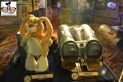 """New Exhibit in One Mans Dream includes """"Adam's Toy Bunny"""" from Honey I blew up the Kid and a Rocketeer Jet Pack from the Rocketterr"""