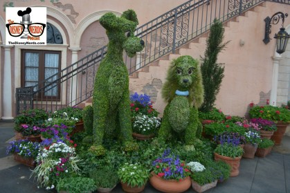 Lady and the Tramp in front of Italy