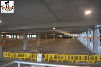 Lots of room at the Orange Parking Structure