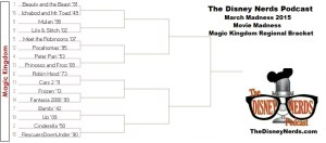 The Disney Nerds Podcast March Madness 2015 - Magic Kingdom Regional Bracket