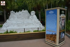 "The Disney Nature Sand-sculpture moved to Animal Kingdom this year - Previously it had been part of Epcots Flower and Garden Festival... in the location that's now home of a permanent ""Kiosk"" used for Flower and Garden and Food and Wine Festival. - Fits Animal Kingdom Better than Flower and Garden"