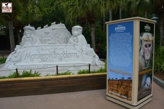 """The Disney Nature Sand-sculpture moved to Animal Kingdom this year - Previously it had been part of Epcots Flower and Garden Festival... in the location that's now home of a permanent """"Kiosk"""" used for Flower and Garden and Food and Wine Festival. - Fits Animal Kingdom Better than Flower and Garden"""