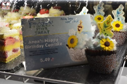 Anna's Happy Birthday Cupcake - available park wide, this was taken in Sunshine Seasons in the Land.