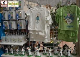 Frozen Themed Merchandise inside the Festival Center - Epcot International Flower and Garden Festival 2015