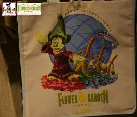 The Festival Logo could be found on just about everything - Epcot International Flower and Garden Festival 2015