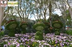 Fantasia Topiaries - - Epcot International Flower and Garden Festival 2015