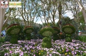 Fantasia Topiaries - - Epcot International Flower and Garden Festival 2015